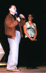 Armin Shimerman with Chase Masterson (30673 bytes)