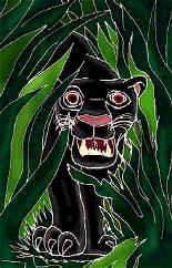 """A Jaguar Pic"" by talented artist Asali Nyuki, click here to visit her web-site..."